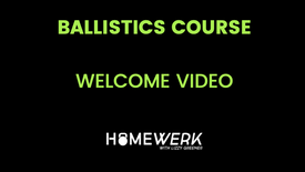 Welcome To Homewerk Fitness Ballistics!