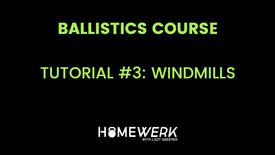 Tutorial #3: Windmills