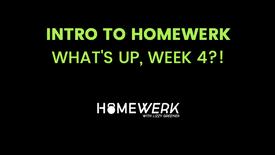 Week 4 Info