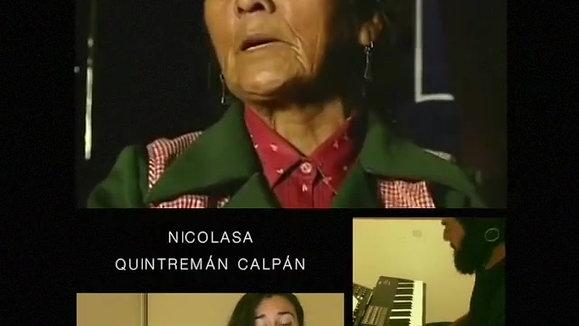 """Armonización #4 Nicolasa Quintremán Calpán """"Y seré hasta el final aquí"""""""