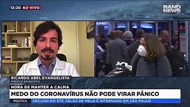 Band News março/2020: Coronavírus e Medo
