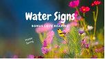 WATER (Scorpio,Pisces&Cancer) Signs Love Bonus Reading