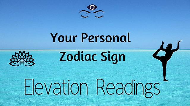 Personal Sign Elevation Tarot & Energy Readings