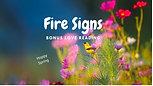 FIRE (Leo, Aries & Sagittarius) Signs Love Bonus Reading
