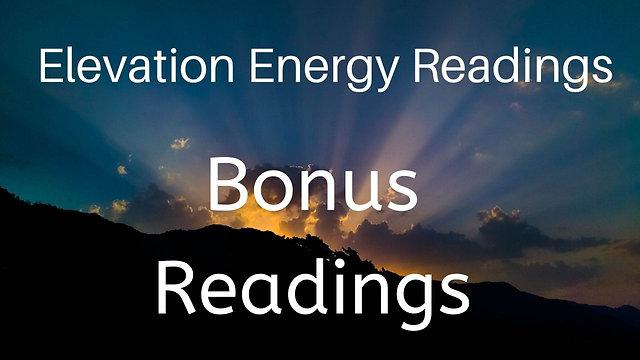 Bonus Elevation Energy Readings