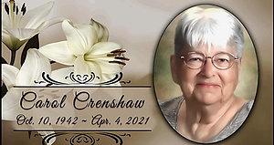 Carol Crenshaw Funeral Service