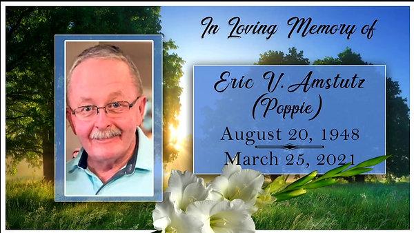 Eric Amstutz Memorial Service