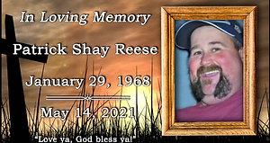 Patrick Reese Memorial Service