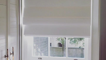 Motorised Roman Blind