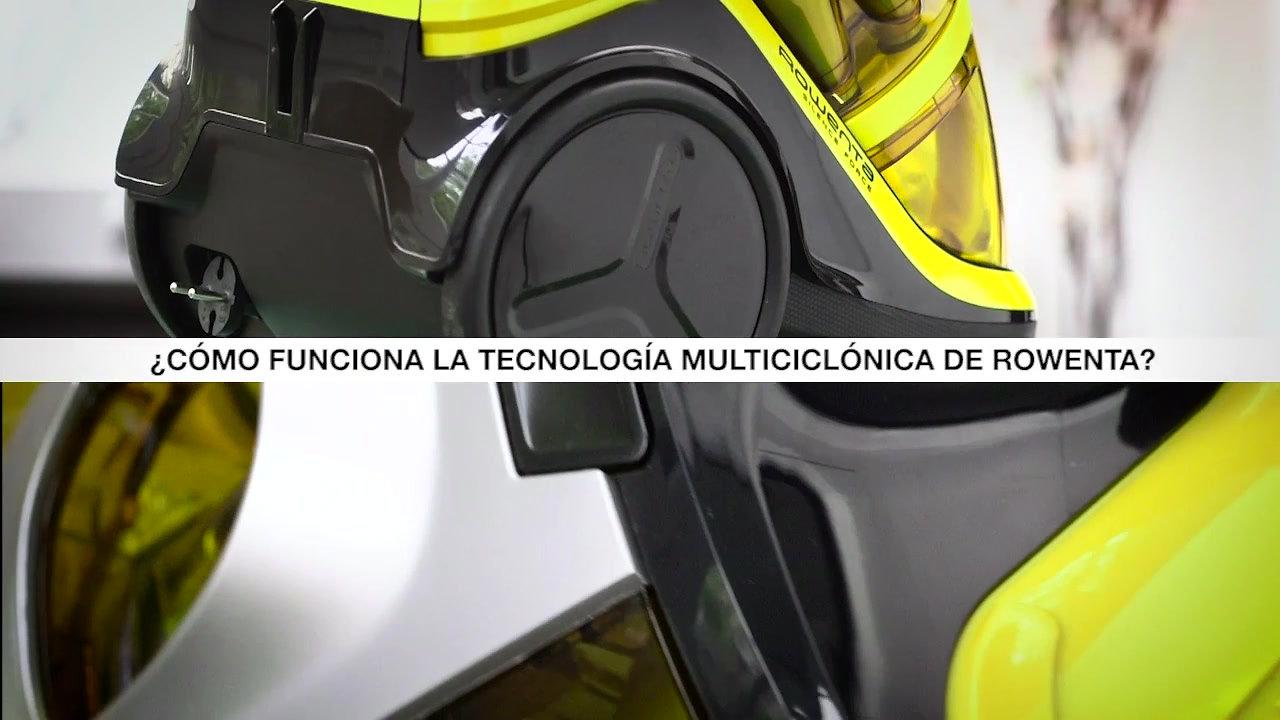 Rowenta Vaucum cleaner - Trainnig video