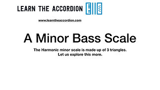 A Harmonic Minor Bass Scale - Free Download
