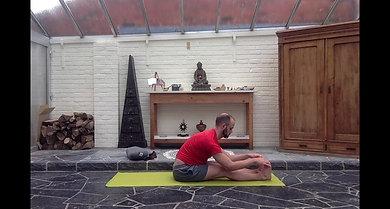 Flexion avant assise classique - plan incliné