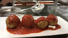 Bacaro Eggplant Meatballs Appetizer