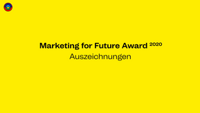 M4F Award 2020 - Gewinner-Innen der Herzen