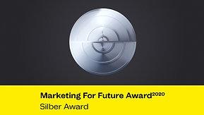 Marketing For Future Award 2020 - Silber