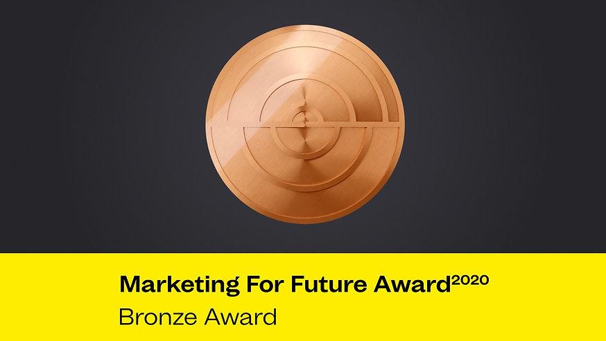 Marketing For Future Award 2020 - Bronze