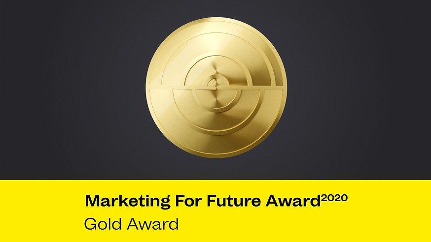 Marketing For Future Award 2020 - Gold