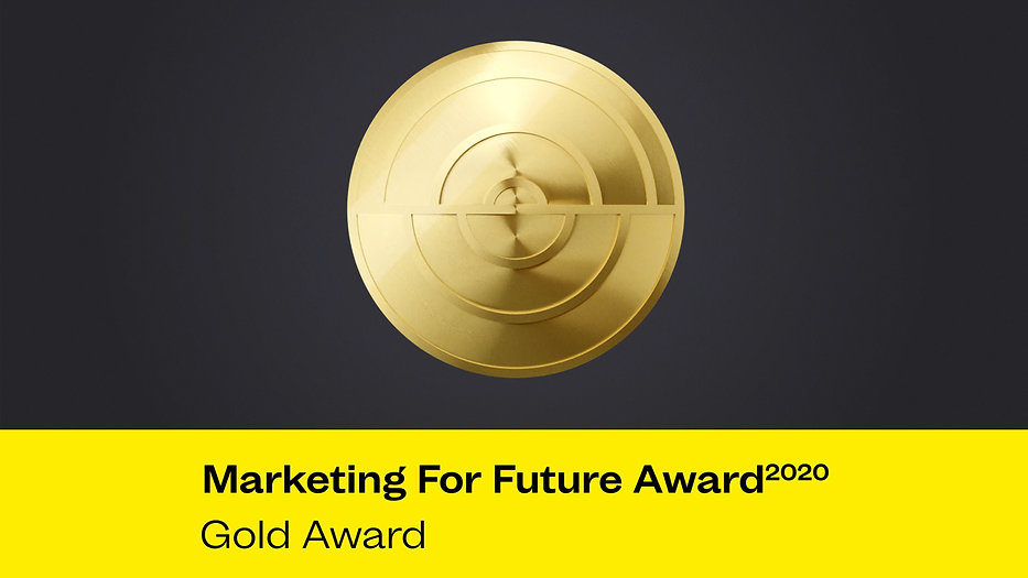 Marketing For Future Award 2020 - Gold