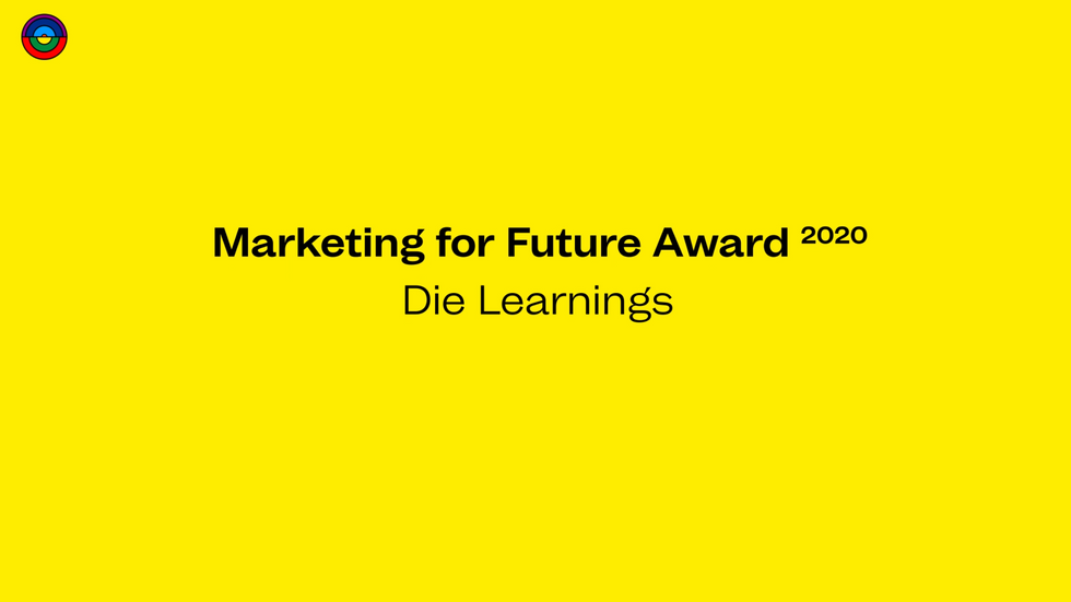 Marketing For Future Award 2020 - Die Learnings