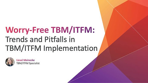 Trends and Pitfalls in Government TBM/ITFM