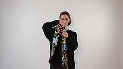 Tie Your Silk Scarf - No 1