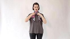 Tie Your Silk Scarf - No 3