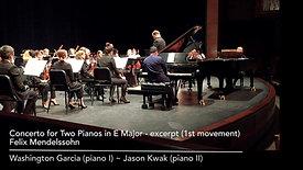 Mendelssohn Two Piano Concerto (excerpt)