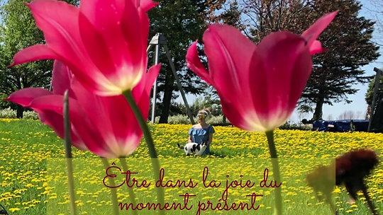 Être dans la joie du moment présent