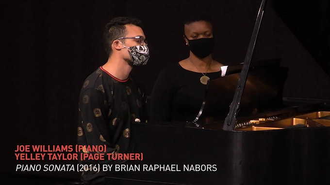 Piano Sonata (2016) by Brian Raphael Nabors