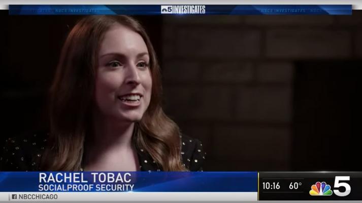 NBC Investigates: Rachel Tobac Tech Support Scams Interview
