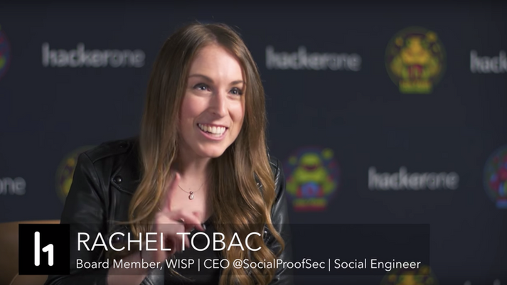 HackerOne Hacker Interviews: @RachelTobac