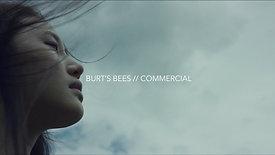 BURT'S BEES // COMMERCIAL