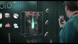 Holoair na Brazil Promotion 2018 - Hologramas