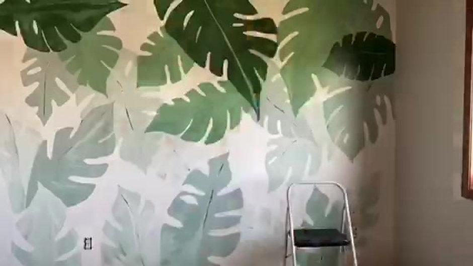 Mural timelapse videos