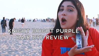 Knight Bright Purple - Hair Dye Review