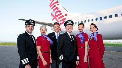Virgin Australia.