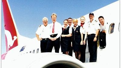 Qantas 1994 - 2003.