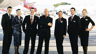 Qantas 2003 - 2008.