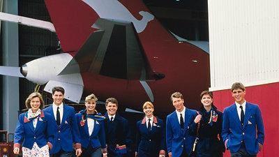 Qantas 1985 - 1993.