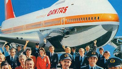 Qantas 1971 - 1985.