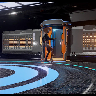 Motion capture dance demo