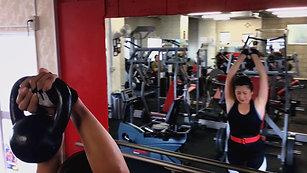 Kaori arm workout .