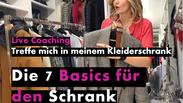 Live Coaching: 7. Basics im Schrank Nr. 1