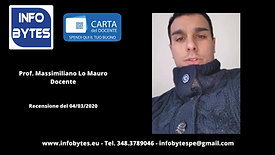 Video recensione Lo Mauro Massimiliano