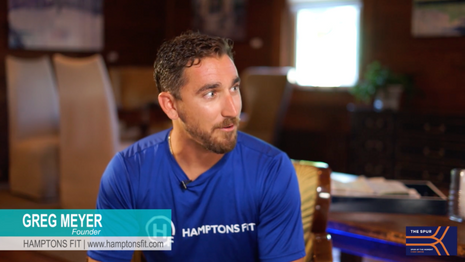 Greg Meyer of Hamptons Fit on 'Spur of the Moment'