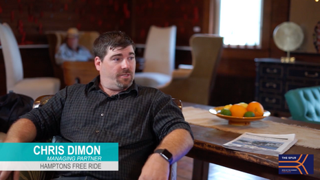 Spur of the Moment with Hamptons Free Ride's,  Chris Dimon