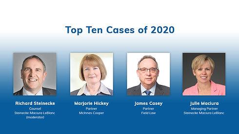 Top Ten Cases