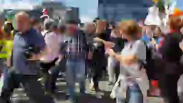 Demo in Düsseldorf