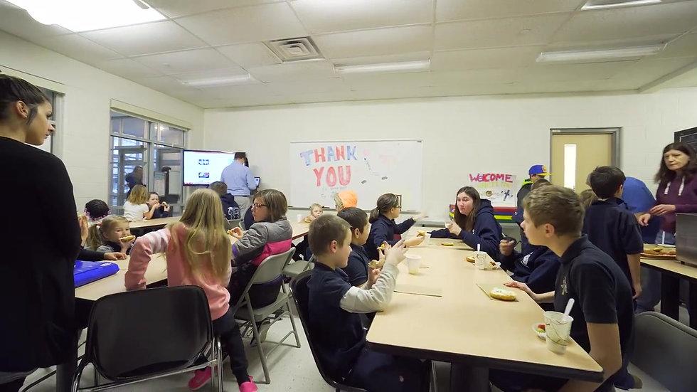Hamilton Bulldogs Foundation Breakfast Program