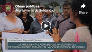 """Campaña """"Solidaridad Construye"""" Arranque de obras públicas"""